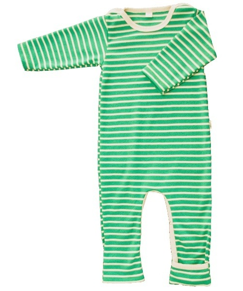 light playsuit in organic cotton - popolini iobio