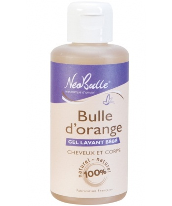 néobulle gel lavant bulle d'orange
