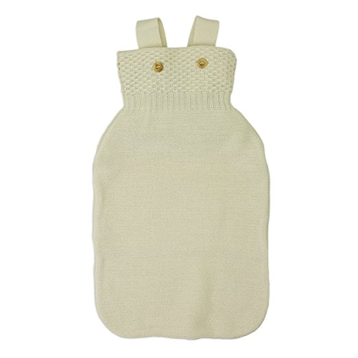 knitted woollen sleeping bag - disana