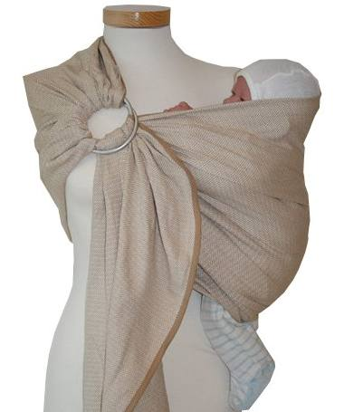 ring sling storchenwiege gamme leo
